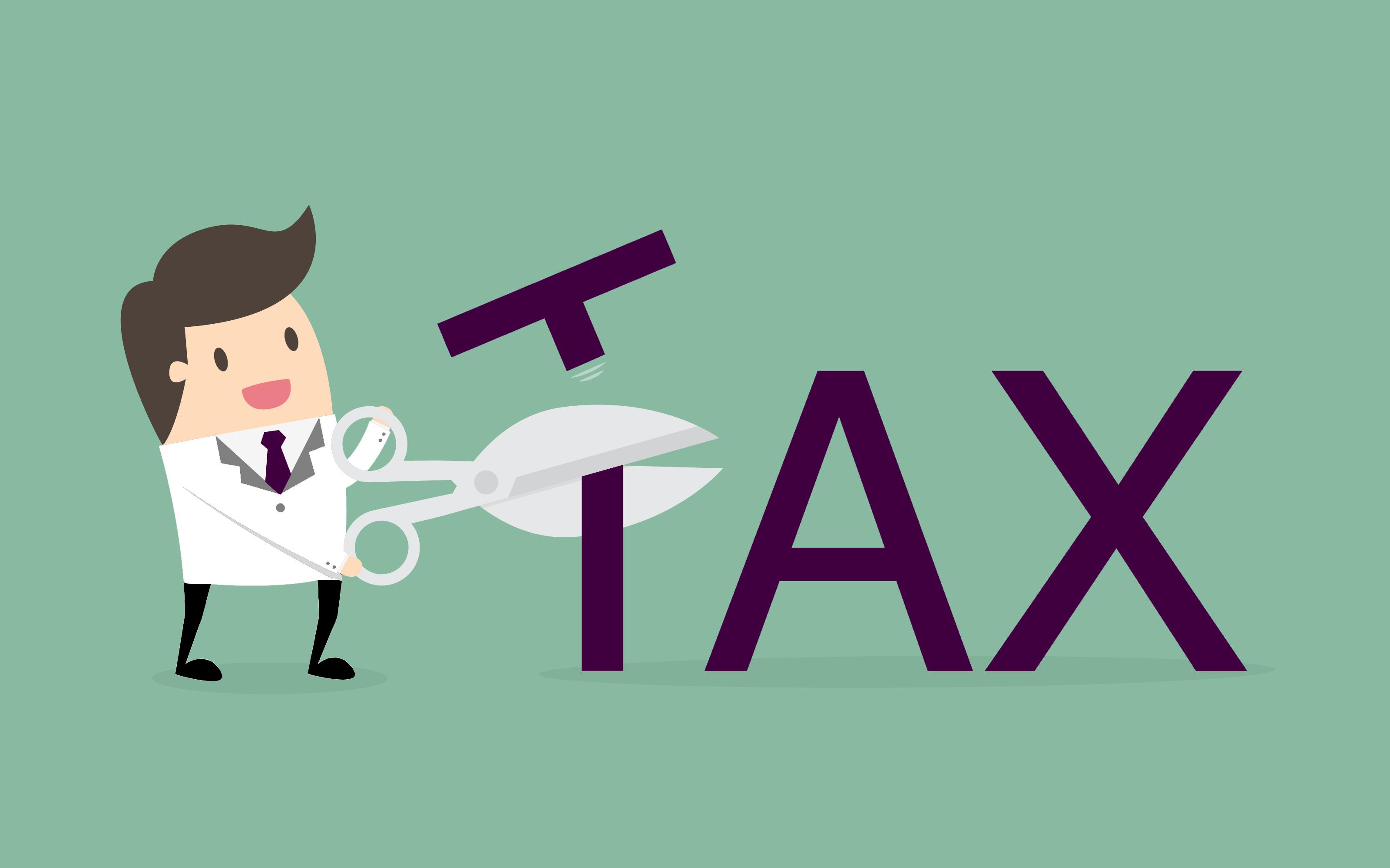 Dentist cutting taxes